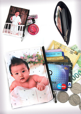 124-GC OEMPhoto Coin Card Purse포토코인카드지갑
